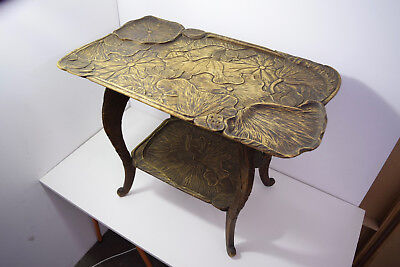 Vintage carved ornate small table