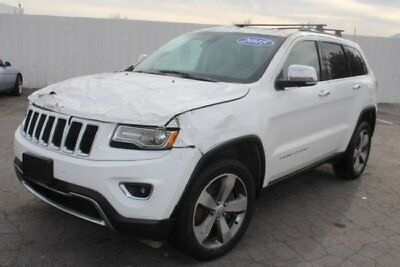 2015 Jeep Grand Cherokee 4WD Limited Low Miles 2015 Jeep Grand Cherokee Limited 4WD Low Miles!! Priced To Sell!! Repairable