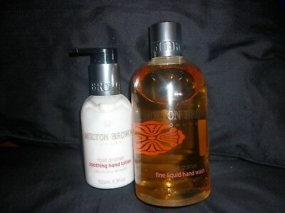 Molton Brown Rose Granati Hand Wash & Lotion 300&100Ml Qvc New Unwanted Gift