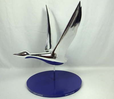 Rare Grey Goose Vodka Silver Metal Goose Logo Display With Base Free Shipping