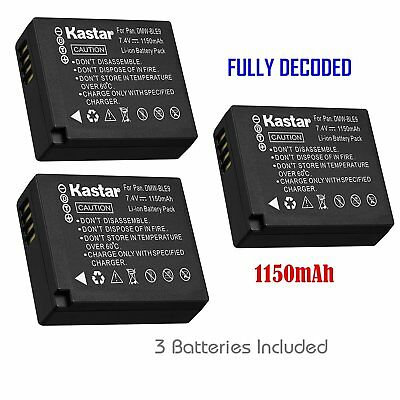 DMW-BLG10 Battery for Panasonic Lumix DC-GX9 DC-ZS200, Leica D-Lux Type 109