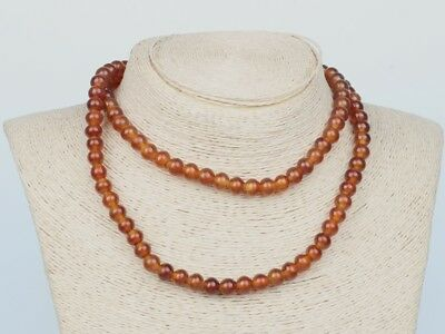 Chinese Exquisite Turtle shell hand carved necklace