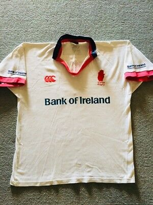 Retro Vintage Ulster Rugby Jersey, Size L