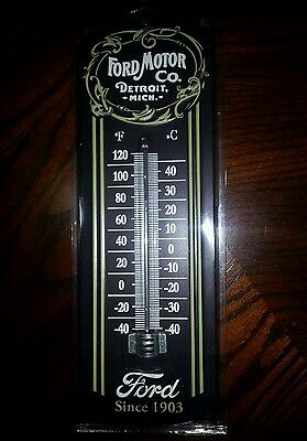 Ford thermometer vintage looking early Ford mustang model A torino model T