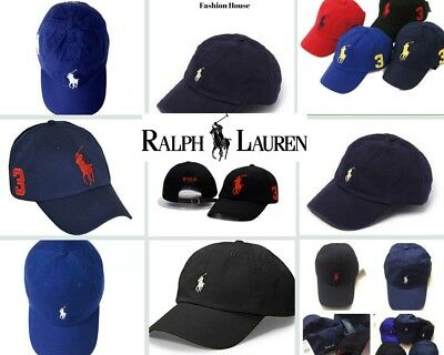 """SALE"" Ralph Lauren Polo Cap/Hat Classic Pony Men's Boy's Unisex, One Size"
