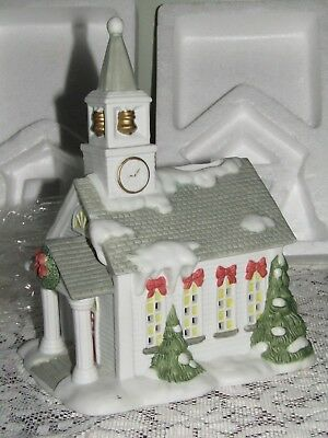 """Retired Partylite """" The Church """" Candle Holder P0428 W/Box"""