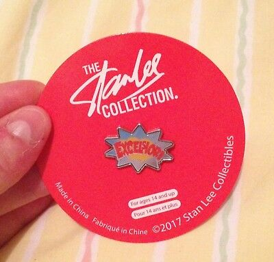 Pin's Badge Stan Lee Marvel Collector