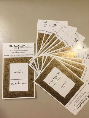 EASTON PRESS Bookplates Nameplates ex Libris Universal Stickers From the Library