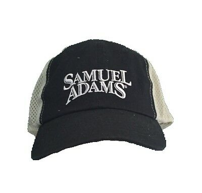 Samuel Sam Adams Mesh Trucker Baseball Adjustable Hat Cap