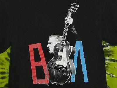 BRYAN ADAMS Bare Bones Tour 2012 T-shirt XL