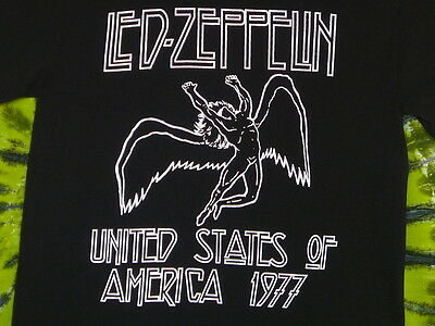 LED ZEPPELIN United States Of America 1977 Commemorative T-Shirt S