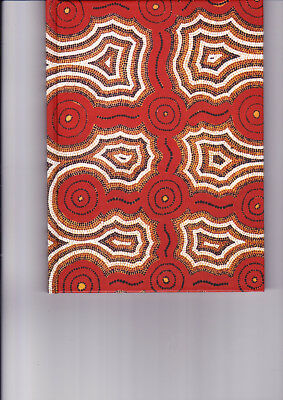 """Aboriginal Blank Book """" Grandfather Dreaming"""" by  Christine Petersen ( NEW )"""