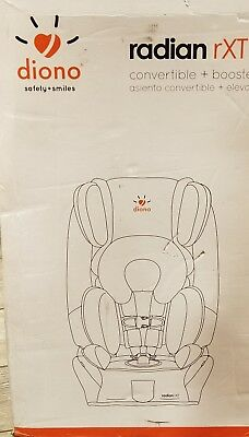 Diono Radian rXT Convertible + Booster Car Seat Shadow Color NEW