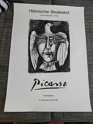 tolles poster Ausstellung picasso