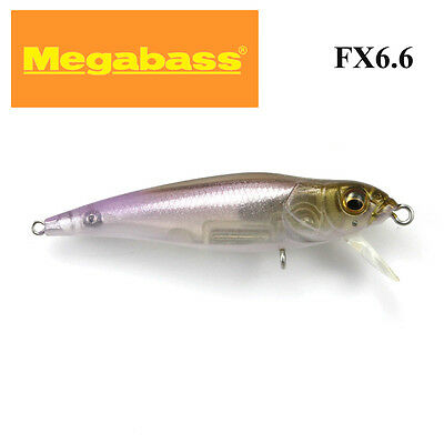 MegaBass FX6.6 JAPANESE REAL BAIT bream,trout lure 66.0mm;Fine Wakasagi