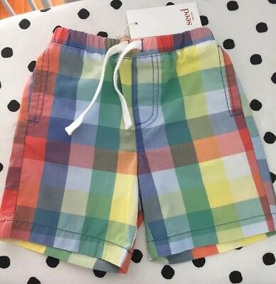 Seed Shorts Size 0 6-12 Months