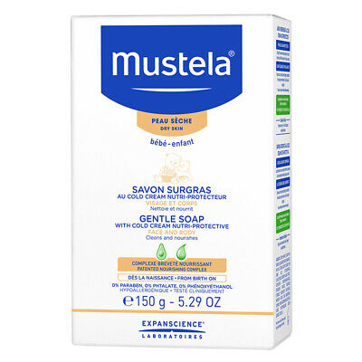 Mustela Gentle Soap with Cold Cream 150g Online Only
