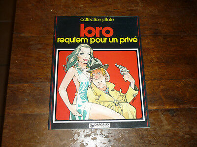 Bd Eo 1983 Requiem Pour Un Prive Par Loro Collection Pilote