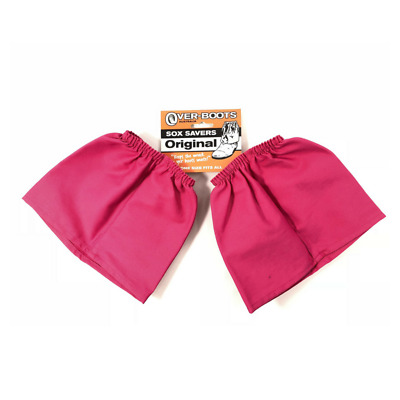 Over boots Sock Protectors Sock Savers Cotton PINK Work Boot Covers Overboots