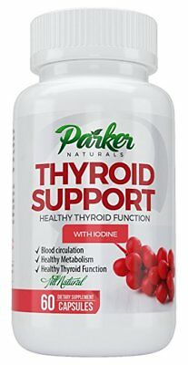 Thyroid Support Supplement & Energy Vitamins Thyroid Complex & Metabolism 60 ct