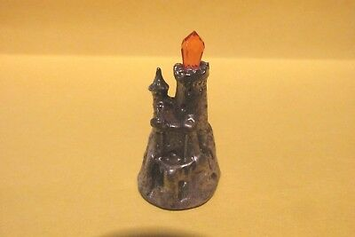 Pewter Castle With Austrian Crystal Spire