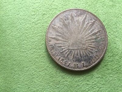 coin 8 Reales 1841 Mexico
