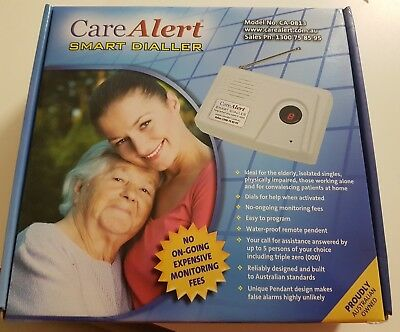Care Alert Smart Dialler personal alarm system with a Key Safe Lock