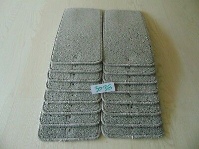 Stair Carpet Pads treads 43.5cm x 21cm X16 off  #3038