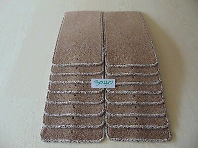 Stair Carpet Pads treads 43.5cm x 21cm X16 off  #3040