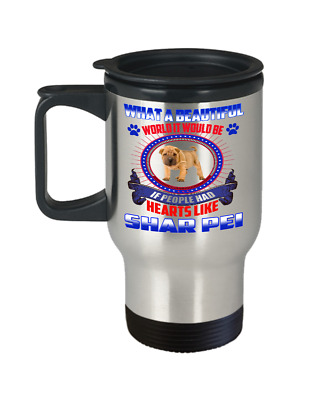 SHAR PEI DOG, Travel Mug