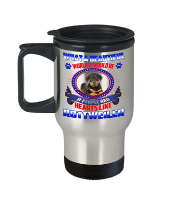 ROTTWEILER DOG, Travel Mug