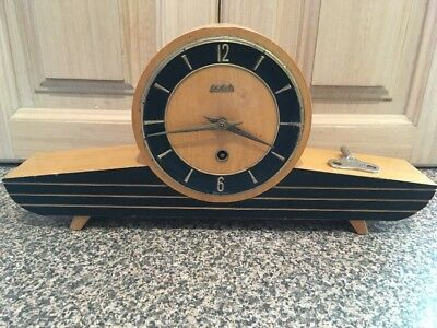 Art Deco Wehrle Mantle Clock. Germany