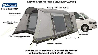 Outwell Scenic Road 300SA - Driveaway Air Awning - Ideal T4,T5,T6