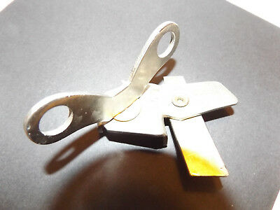 VAUGHAN'S SAFETY ROLL CAN OPENER Great for Survival or BUG OUT BAG vtg low tech