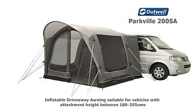 Outwell Scenic Road 200SA - Driveaway Air Awning - Ideal VW T4,T5,T6