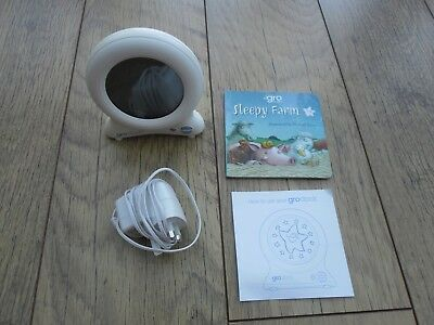 Gro clock, with lead,plug,story book and instructions