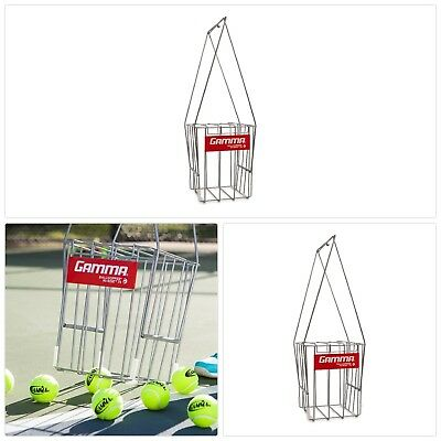 GAMMA Tennis Ball Hopper Hi Rise 75| Silver Tennis Ball Holder W 75 Ball New