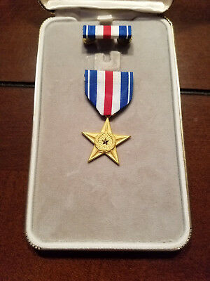 Silver Star Medal Award and Presentation Case