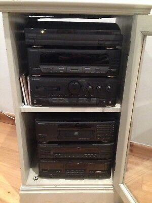 Kenwood music stereo stack system