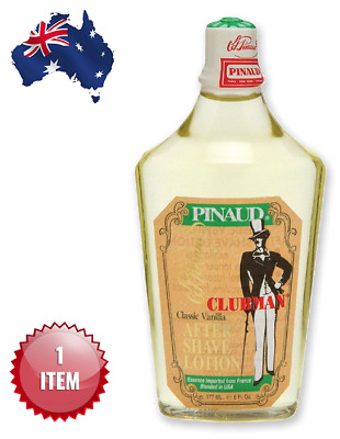 CLUBMAN PINAUD CLASSIC VANILLA AFTERSHAVE LOTION 177 ml. - AUS SELLER
