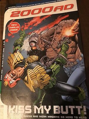 2000 AD Comic Prog 1208: Very Rare Issue Due to Distributor Problems