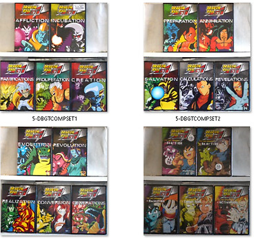 Dragon Ball GT Complete 21 DVD Set 1 2 3-Lost Episodes Vol 1 to 2 + Movie