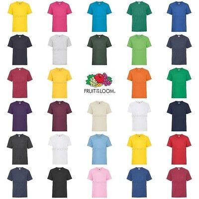 Fruit of the Loom Boys Girls Valueweight T-Shirt