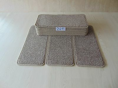 14 Open Plan Stair Carpet Pads treads 50cm x 23cm  #2411-6