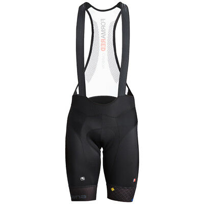 Giordana FR-C Pro Moda Diamante Bike Bib Shorts Black/Grey 2018