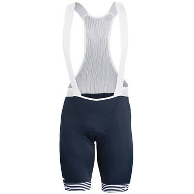 Giordana Vero Pro Moda Mare Bike Bib Shorts Navy Blue/White 2018