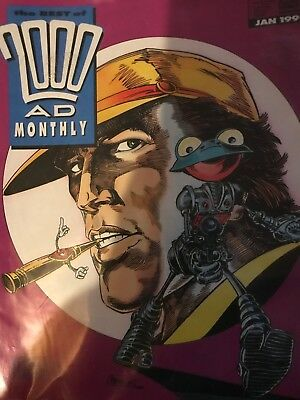 7 x Best of 2000AD Monthly Featuring Judge Dredd Issues 52,53,54,56,57,58,& 59.