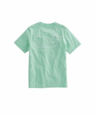 NWT Boy's/Girl's Medium Or Large Mojito Vineyard Vines Whale Pocket T-Shirt