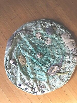 """Land of Nod """"Be on the Sea"""" Baby Activity Floor Play Mat (MSRP $119)"""