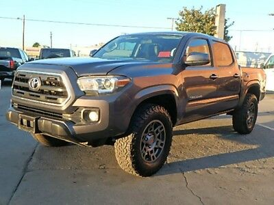 2016 Toyota Tacoma SR5 Double Cab Long Bed V6 5AT 4WD 2016 TOYOTA TACOMA Crew Cab Pickup Damaged Wrecked Repairable Rebuild Wont Last!